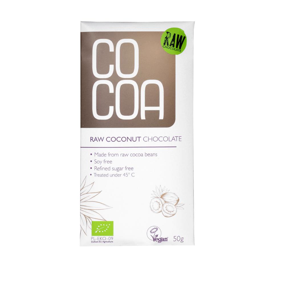 Čokolada Cocoa z okusem kokosa