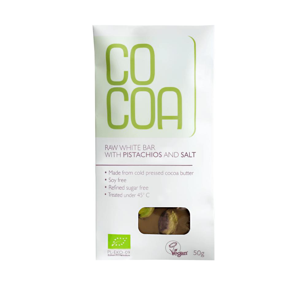 Čokolada Cocoa z okusem pistacije