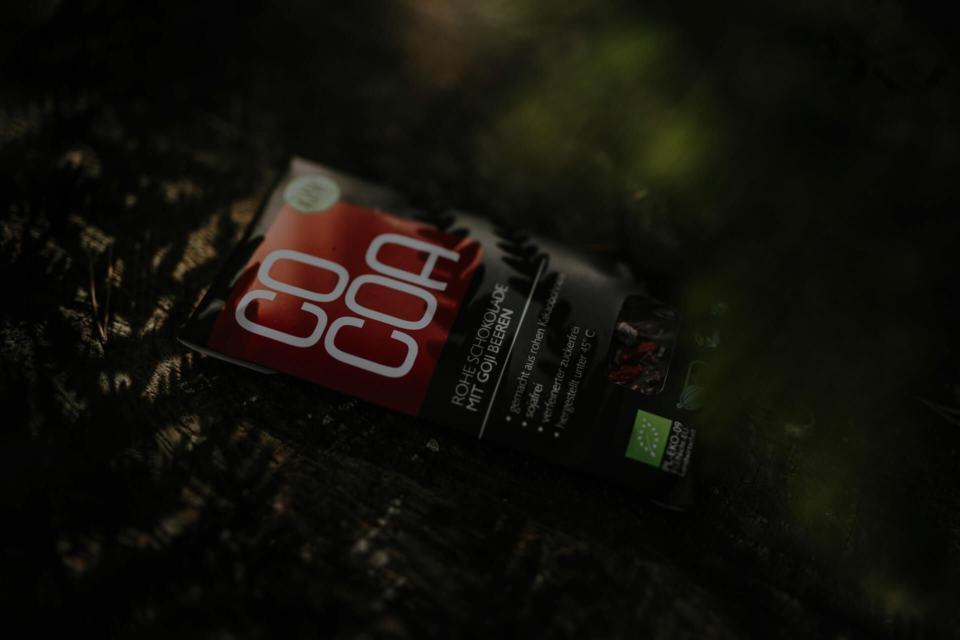 Čokolada Cocoa z goji jagodami